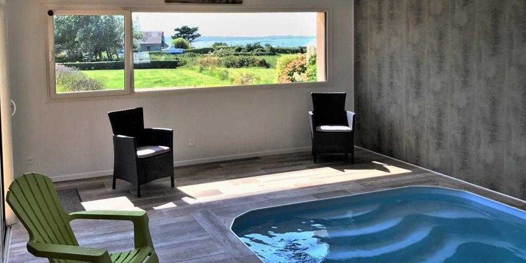 piscine chauffée à 29 ° toute l\'année